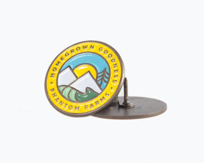 Homegrown Enamel Pin